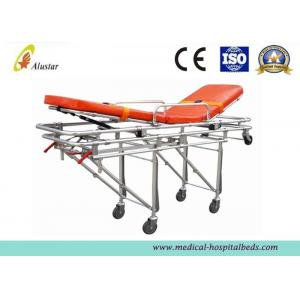 China Waterproof Foldable Automatic Loading Stretcher Aluminum Alloy Emergency Stretcher (ALS-S005) on sale