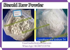 Quality L-thyroxine crue T4 d'hormone de poudre de stéroïde anabolisant pour le for sale