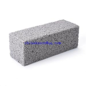 China High Quality Magic Barbecue Grill Cleaner , Custom Packing Grill Cleaning Brick Pumice Stone , Wholesale BBQ Tools Grill on sale