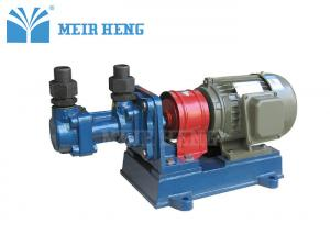 China Small Screw Oil Transfer Pump / Rotary Positive Displacement Pumps For Lubrication Oil on sale