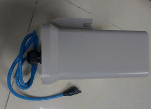 China Passive Long Range UHF RFID Reader Shell Material Aluminium Interface RS 485 on sale