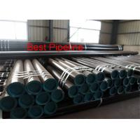 China ERW API Casing Pipe Copper Coated Wall Thinkness 0.078- 0.625 5CT J55 K55 N80 on sale