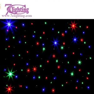 China RGB LED Curtain,Stage DJ Event Backdrop LED Twinkle Curtain on sale