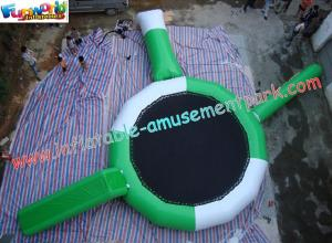China Inflatable water trampoline combo toys with durable 0.9MM PVC tarpaulin material for Kids on sale