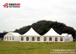 China 200 People Seater Pagoda Party Tent With High Reinforce Frame Fire Retardant on sale