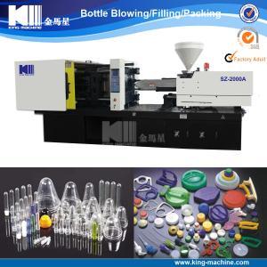 China Machine de moulage d'ANIMAL FAMILIER de bouteille injection en plastique de préformation on sale