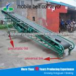 Automatic Truck Loading Belt Conveyor system used for material transfer