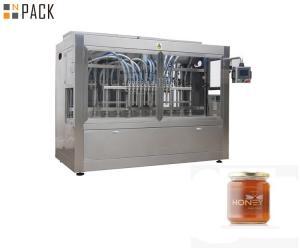 China Small Scale Food Piston Filling Machine 2000m*1100mm*2400mm HMI Operation on sale