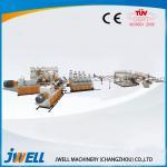 Jwell PVC semi- skinning WPC Foam Board anti-acid and anti-flame