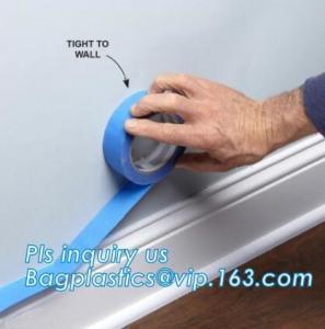 China Heat Resistant Automotive Adhesive Masking Tape reisst 80c Auto masking tape,Painters Masking Tape,automotive for painte on sale