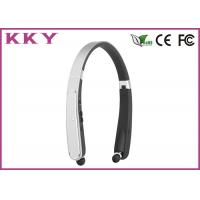 Foldable Neckband Bluetooth Headphone CSR CVC Noise Reduction Headphone for Mobile Phone
