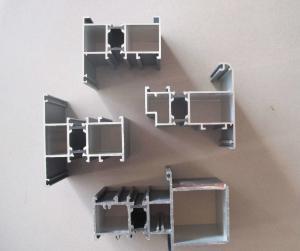 China Supply high quality powder coating aluminum extrusion window profiles on sale