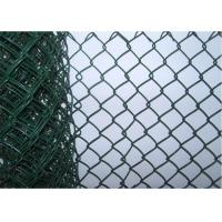 8 Foot Residential Chain Link Fencing , Portable Protective Mild Steel Galvanized Iron Wire Fence