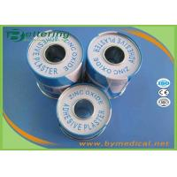 Zinc Oxide Medical Adhesive Plaster Tape For Fixing Dressing With Tinplate Package