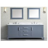 Prima Customized MDF Vanity With Quartz Stone Countertop / Basin and Faucet