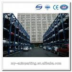 3 Levels Stacker Multilevel Parking System Automatic Vertical Stacker Car ParkingEquipment
