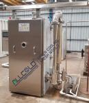 2 Trolleys SGS 21KW Food Vacuum Cooling Machine Bitzer