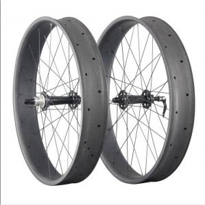 China Powerway Black Hub 90mm Custom Fat Bike Wheels ,Snow 26 Inch Fat Bike Wheels on sale