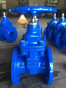 China With Price 50mm Cast Iron Pn16 Dn100 Water Din 3352 F4 Resilient Seated Gate Flanged Valve on sale