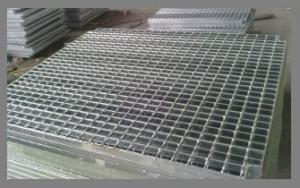 China Custom Galvanized Stainless Steel Grating For Filter Waste Water on sale