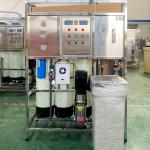FRP/SS 5000L/H Water Plant RO System Fully Automatic Water Bottling Plant