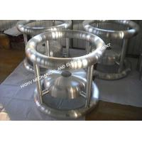 310kV High Voltage Corona Rings 3mm Wall Thickness For AC Resonant Test System