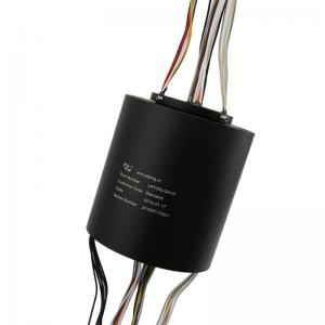 China Through hole slip ring 24 circuit 10A 300rpm can be used for wind power equipment crane slip ring on sale