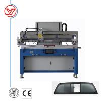 PLC Control Silk Screen Printing Machine , 700*1600mm Table Silk Screen Press