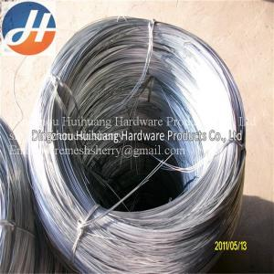 China Factory  Electro/Hot Dipped Galvanized iron Steel Wire on sale
