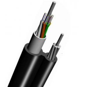 China GYTC8A Aerial Figure 8 Fiber Optic Cable with Lashed Aluminium Armored on sale