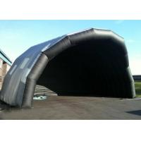 Customized Giant Inflatable Stage Cover Black Large Inflatable Event Tent