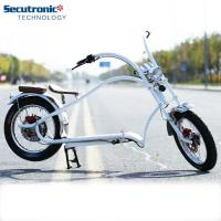 Lithium Battery Electric Powered Bicycle , Pedal Assist Electric Bike Brushless Motor