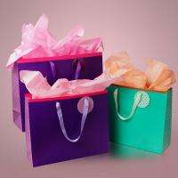 China Contemporary Bespoke Jewelry Paper Bags , Printing Paper Large Gift Bags on sale