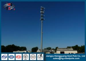 China Powder Coated Galvanized 3G Telecommunication Towers For Cell Phone Signal on sale