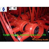 Pneumatic Handle Grooved End Butterfly Valve Lug Type With MSS / ANSI Standard