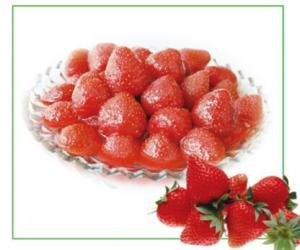 China FD Fruit Jelly Fresh Fruit Strawberry Yellow Peach Canned Or Plastic Cup Packing on sale