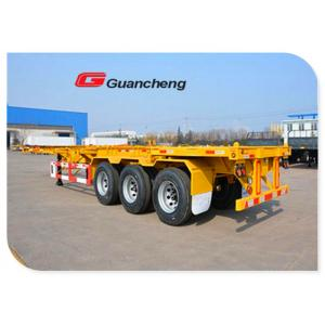 China Tri Axle 45 Feet Heavy Duty Semi Trailer For Container / Cargo Transportation on sale