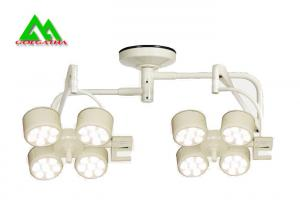 China Double Dome Shadowless LED Surgical Lights Ceiling Mounted Hospital Equipment on sale