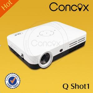 China Led mini pocket projector for Iphone 5 lowest price Concox Q shot1 on sale