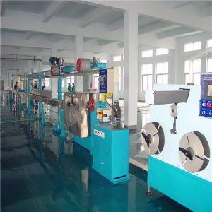 China WS-70mm soft plastic wire extruder machine on sale