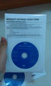 China Microsoft Windows Operating System Server 2008 R2 Enterprise 25 Cals/Users with 2 DVDs inside on sale