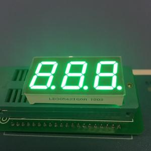 China Pure Green Seven Segment LED Display 0.56  3 Digit For Instrument Panel on sale