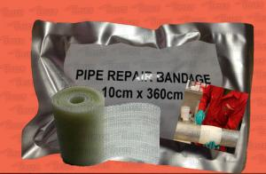 China Pipe Repair Bandage, Electric Cable Anticorrosion Protection Armor Wrap on sale
