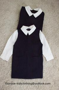 China Etonzoe Kids One Piece Dress Woolen Dress Girls Winter Dress Family Clothes on sale