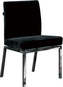 Quality PU & PVC Leather Dining Chair, Contemporary Upholstered Dining Chair for sale