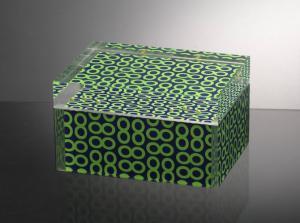 China Silkscreen Acrylic food box on sale
