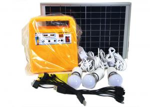 China Clean Energy Solar Powered Lights High Power 10W 18V Polycrystalline Yellow Color on sale