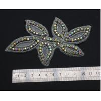 China rhinestone applique trim on sale