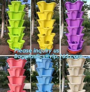 China Home Decoration Black And Green Color Plastic Flower Pots,Biodegradable bamboo fibre flower pots,Desktop&Balcony decorat on sale