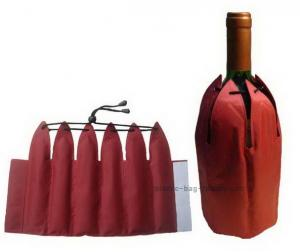 China Non Toxic Insulated Wine Bag 38*23.5cm Size Promotional Bevarage Freezer on sale